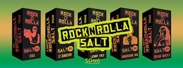 Жидкость Rock'n'Rolla SALT 30 мл $peak Quietly