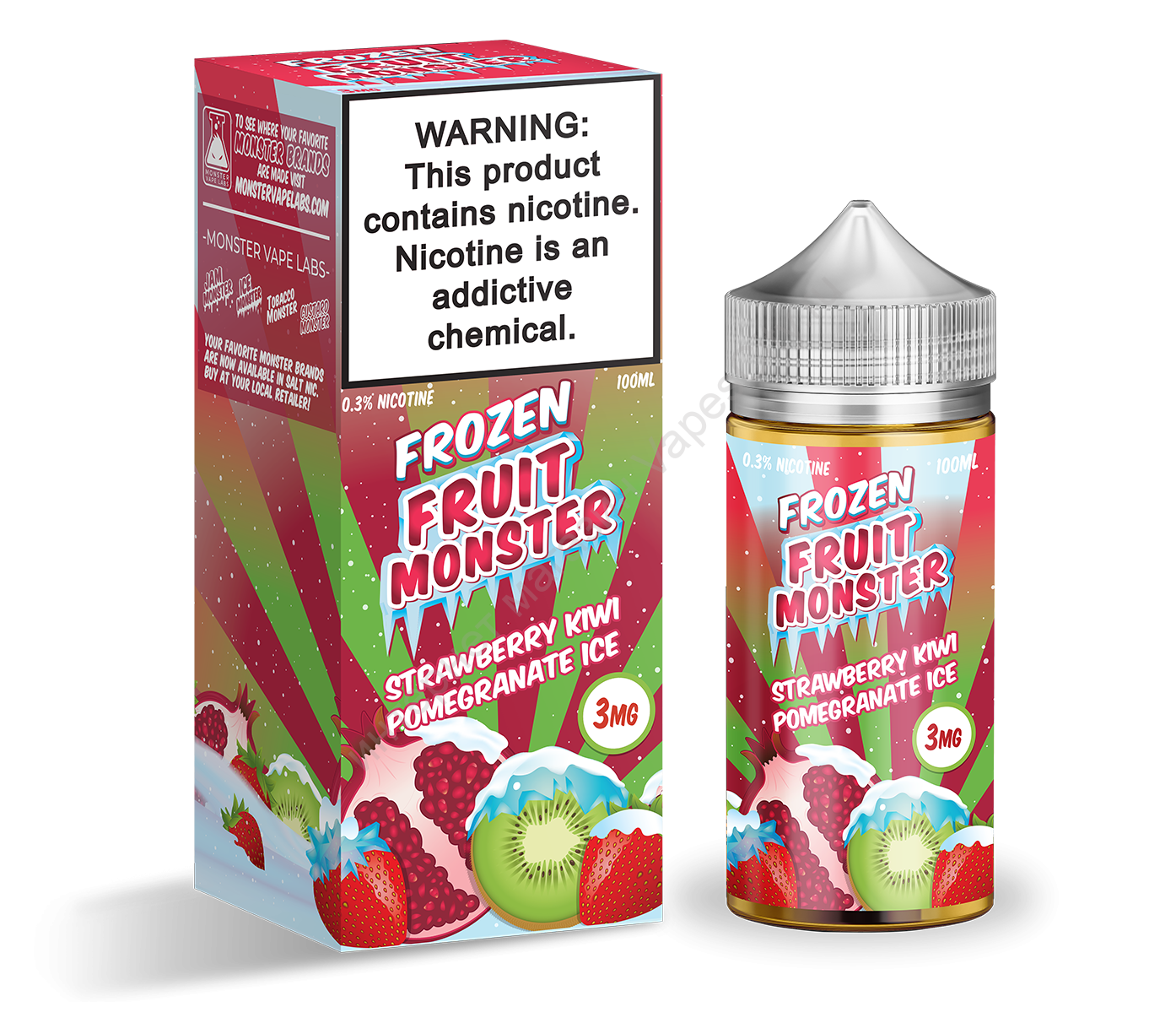 Жидкость FRZ Fruit Monster 100 мл Strawberry Kiwi Pomegranate