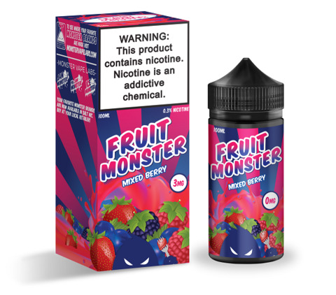 Жидкость FRUIT MONSTER 100 мл Mixed Berry